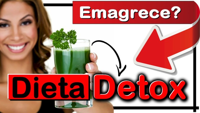Dieta detox emagrece